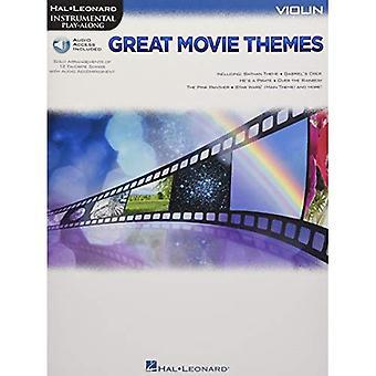 Instrumental Play-längs bra filmteman: Violin (Hal Leonard Instrumental spela-Along)