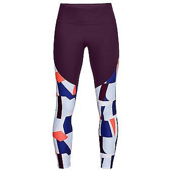 Under Armour Womens Balance Print Crop Pants Ladies