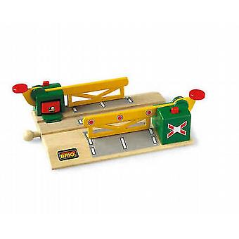 BRIO Magnetic Action Crossing Wooden Toy