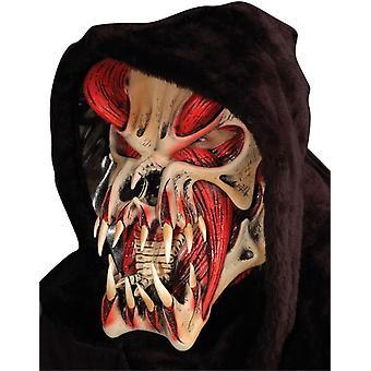 Predator rosso maschera per Halloween