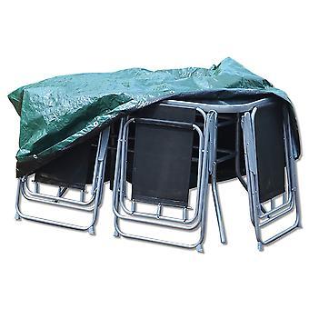 単に直接テラス セット - ラージ ラウンド - カバー防水の全天候型家具プロテクター