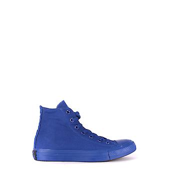 Converse Blue Fabric Hi Top Sneakers