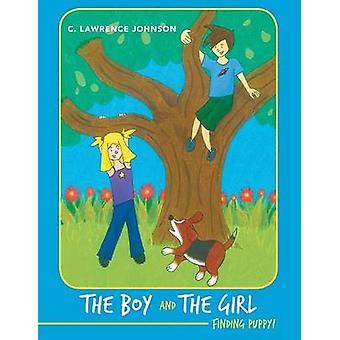 The Boy and the Girl Finding Puppy by Johnson & C. Lawrence