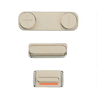 For iPhone 5S/SE - Power Mute And Volume Buttons - Gold