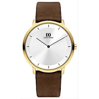Danish Design Tidlos Anholt Large Watch - Silver/Black