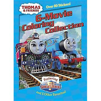 Thomas & Friends 6-Movie Coloring Collection (Thomas & Friends) by Go