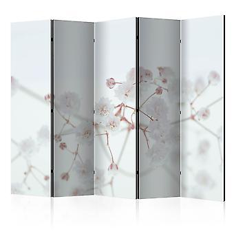 Room Divider - White Flowers II [Room Dividers]