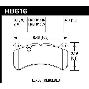 Hawk Performance HB616N.607 HP Plus