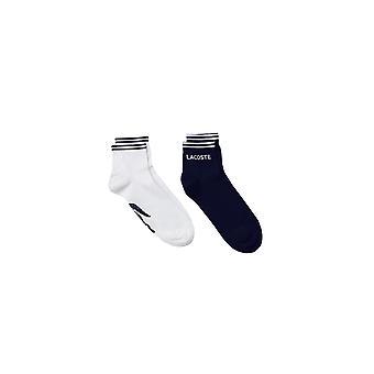 Lacoste Tennis Low Cut Socks White/navy