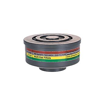 Portwest abek1 gas filter special thread connection p920 box of 4