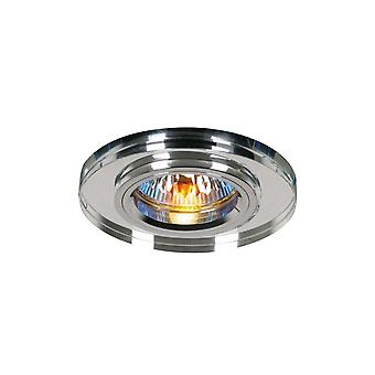 Diyas Crystal Downlight Shallow Round Rim Only Clear, IL30800 Requis pour compléter l'article