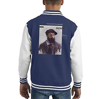 A.P.O.H Monet Paint The Way Birds Sing Quote Kid's Varsity Jacket