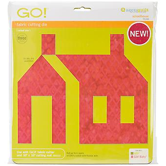 Go! Fabric Cutting Die Schoolhouse 55344