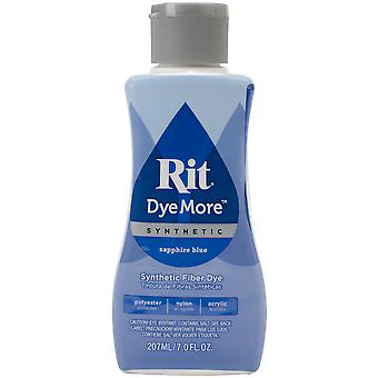 Rit Dye More Synthetic 7oz-Sapphire Blue 020-441