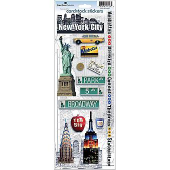 Paper House Cardstock Stickers New York City Stcx 034