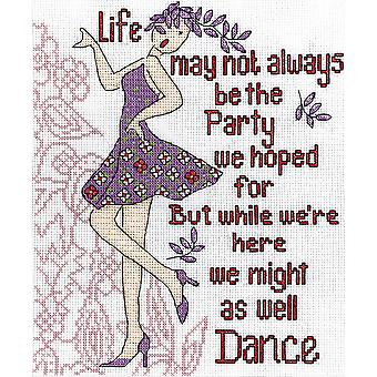 Dance Party Counted Cross Stitch Kit 8
