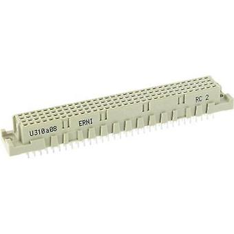 Edge connector (receptacle) 254977 Total number of pins 128 No. of rows