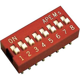 APEM DS-06 DIP Switch estándar
