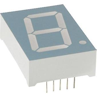 Seven-segment display Red 25.4 mm 4 V No. of digits: 1