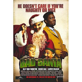 Bad Santa Movie Poster (11 x 17)