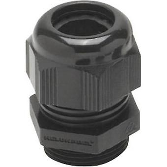 Cable gland M12 Polyamide Black (RAL 9005) Helukabel HT 93937 1 pc(s)