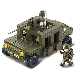 Sluban Lf Army Hummer Parts 175 Squadcar