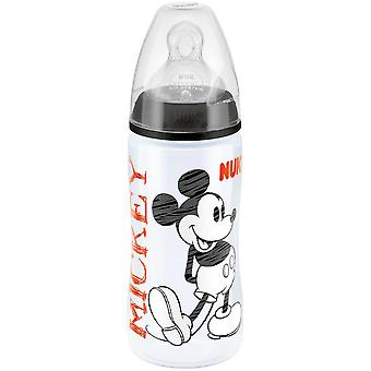 NUK Disney First Choice 300ml Bottle - Black