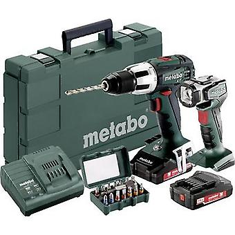 Metabo SB 18 LT Cordless impact driver 18 V 2 Ah Li-ion incl. spare battery, incl. case, incl. work light, incl. accesso