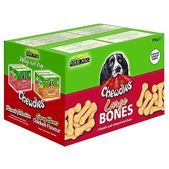 Chewdles store knogler 10kg