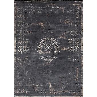 Distressed Black Classic Traditional Rug - Louis De Poortere