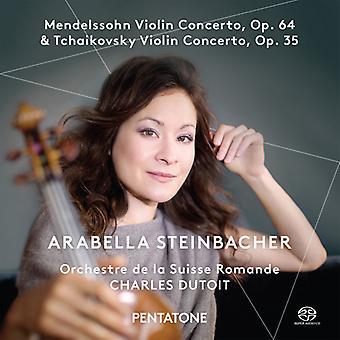 Mendelssohn / Steinbacher / Orchestre De La Suisse - Violin koncerter [SACD] USA import