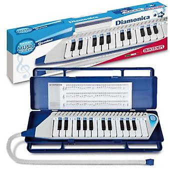 Bontempi Mouthpiano With 25 keys, Tube And Safety