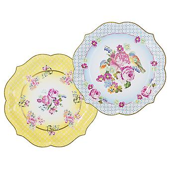 Truly Scrumptious Talking Tables Paper Serving Plates x 4