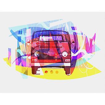 Spille figurer biler 01 plakat Print af Joost Hogervorst