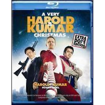 Very Harold & Kumar Christmas [Blu-ray] USA import