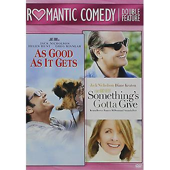 As Good as It Gets / Something's Gotta Give (2003) [DVD] USA import