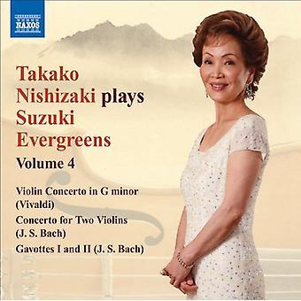 Takako Nishizaki - Takako Nishizaki spielt Suzuki Evergreens, Vol. 4 [CD] USA import