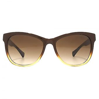 Ralph By Ralph Lauren Casual Square Sunglasses In Brown Gradient Navy