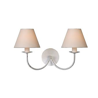 Lucide CAMPAGNE Wall Light 2xE14 (Shade 61009/16/38) Ant