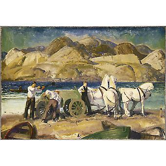 George Bellows - Sand Warenkorb Poster Print Giclee