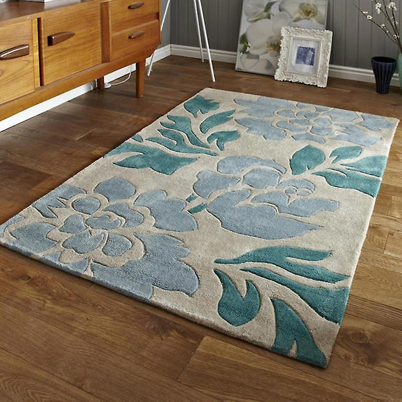 Rugs - Hong Kong - 33L Beige & Blue