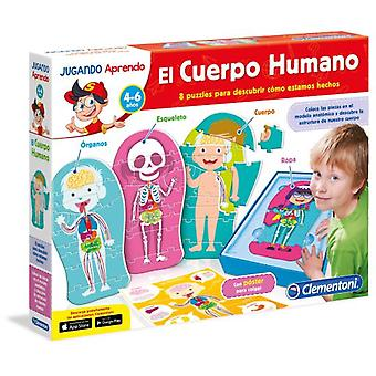 Clementoni Learn The Human Body (Giocattoli , Educativi E Creativi , Scienza E Natura)