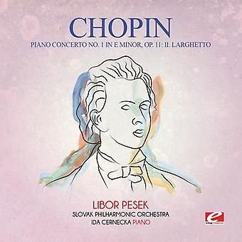 Chopin - 1 Koncert fortepianowy E-moll op. 11: Ii. Larghetto importu USA [CD]