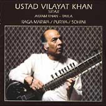 Ustad Vilayat Khan - Raga Marwa/Alberts/Sohini [CD] USA import