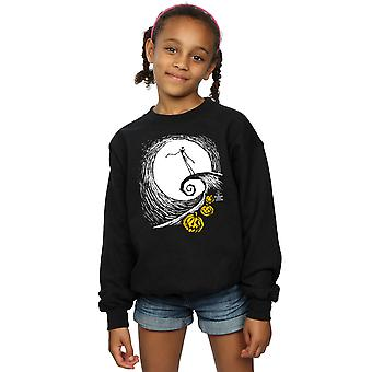 Disney Girls Nightmare Before Christmas Jack's Lament Sweatshirt