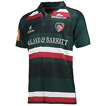 2017-2018 Leicester Tigers Home maglia da Rugby