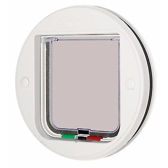 Pet Mate Circular Glass Fitting Cat Flap
