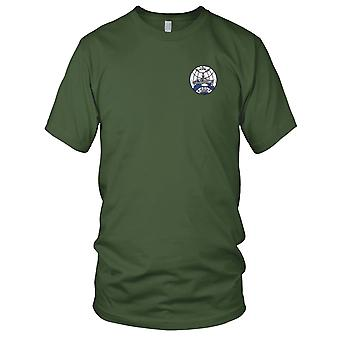 US Navy USS Glacier AGB-4 brise-glace brodé Patch - Mens T Shirt