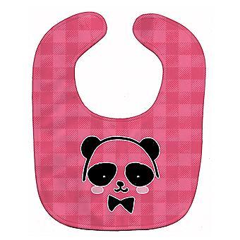 Carolines Treasures  BB7039BIB Panda Bear Pink Face Baby Bib