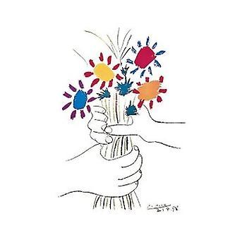 Picasso Petite Fleurs Poster Poster afdrukken